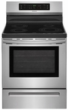 "FFIF3054TS Frigidaire 30"" Freestanding Induction Range with Quick Clean and Temperature Precision - Stainless Steel"