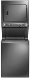 "FFLE4033QT Frigidaire 27""  Electric Washer/Dryer High Efficiency Laundry Center with 3.8 cu. ft. Washer and 5.5 cu. ft. Dryer  - Slate"