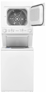 "FFLG3900UW Frigidaire 27"" Laundry Center with 3.9 Cu. Ft. Washer and 5.5 Cu. Ft. Gas Dryer - White"
