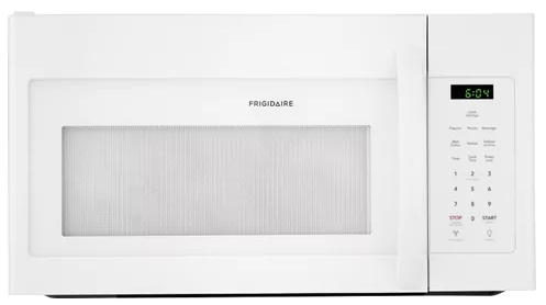 """FFMV1645TW Frigidaire 30"""" 1.7 Cu. Ft. Over-The-Range Microwave with Multi-Stage Cooking and LED Lighting - White"""