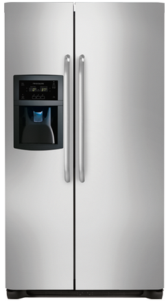 FFSC2323LS Frigidaire 22.2 Cu. Ft. Counter Depth Side-by-Side Refrigerator - Stainless Steel