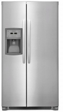 "FFSC2323TS Frigidaire 36"" Counter-Depth Side by Side 22.2 Cu. Ft. Refrigerator with Ready Select Controls and Store More Humidity Controlled Crisper Drawers - Stainless Steel"