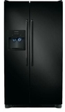 FFSS2314QE Frigidaire 23 cu. ft. Side by Side Refrigerator with Water & Ice Dispenser - Black