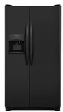 "FFSS2315TE Frigidaire 33"" 22.1 Cu.Ft Side by Side Refrigerator with Ready-Select Controls and Store-More Capacity - Ebony"