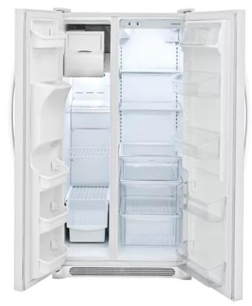"FFSS2315TP Frigidaire 33"" 22.1 Cu.Ft Side by Side Refrigerator with Ready-Select Controls and Store-More Capacity - Pearl"