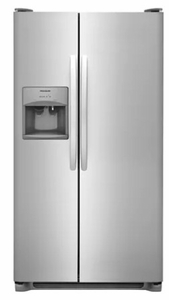 "FFSS2315TS Frigidaire 33"" 22.1 Cu.Ft Side by Side Refrigerator with Ready-Select Controls and Store-More Capacity - Stainless Steel"