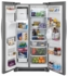 """FFSS2325TS Frigidaire 33"""" 22.0 Cu. Ft. Side-by-Side Refrigerator with Multi-level LED Lighting and Adjustable Interior Storage - Stainless Steel"""