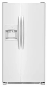 FFSS2615TP Frigidaire Side-by-Side 25.6 Cu. Ft.Refrigerator with Ready-Select LCD Controls and Pure Source 3 - Pearl
