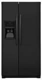 "FFSS2625TE Frigidaire 36"" Side-by-Side 25.5 Cu. Ft. Refrigerator with Ready-Select Controls and Pure Source 3 - Ebony"