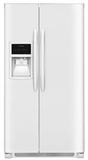 """FFSS2625TP Frigidaire 36"""" Side-by-Side 25.5 Cu. Ft. Refrigerator with Ready-Select Controls and Pure Source 3 - Pearl"""