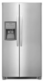 "FFSS2625TS Frigidaire 36"" Side-by-Side 25.5 Cu. Ft. Refrigerator with Ready-Select Controls and Pure Source 3 - Stainless Steel"