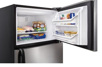 """FFTR1814QS Frigidaire 18 Cu. Ft. Top Freezer 30"""" Wide Refrigerator Built with American Pride - Stainless Steel"""