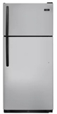 "FFTR1821TS Frigidaire 30"" 18 Cu. Ft. Top Mount Refrigerator with Store-More Gallon Door Shelf and Clear Dairy Bin - Stainless Steel"