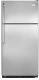 "FFTR1831QS Frigidaire 18 Cu. Ft. Top Freezer 30"" Wide Refrigerator Built with American Pride - Stainless Steel"