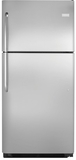 "FFTR2131QS Frigidaire 30"" Top Freezer 20.5 Cu. Ft. Refrigerator with Store More Capacity - Stainless Steel"