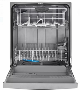 """FGCD2444SA Frigidaire 24"""" Gallery Series Full Console Dishwasher with DishSense Technology and 14 Place Settings - Silver"""