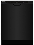 "FGCD2444SB Frigidaire 24"" Gallery Series Full Console Dishwasher with DishSense Technology and 14 Place Settings - Black"