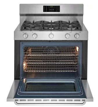 Fgdf4085ts Frigidaire 40 Quot Gallery Series Gas Dual Fuel