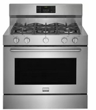"FGDF4085TS Frigidaire 40"" Gallery Series Gas Dual Fuel Range with Sabbath Mode and 5 Sealed Burners - Stainless Steel"