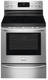FGEF3035RF Frigidaire Gallery 30'' Freestanding Electric Range with Quick Bake Convection - Stainless Steel