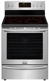 FGEF3058RF Frigidaire Gallery 30'' Freestanding Electric Range with True Convection - Stainless Steel