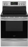"FGEF3059TF Frigidaire Gallery 30"" Freestanding Electric Range with True Convection and Quick Boil - Stainless Steel"