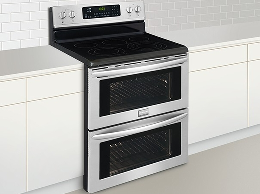FGEF306TPF Frigidaire Gallery 30'' Freestanding Electric Double Oven Range with True Convection - Stainless Steel