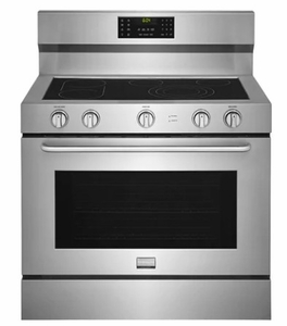 "FGEF4085TS Frigidaire Gallery 40"" Freestanding Electric Range with True Convection and Quick Clean - Stainless Steel"