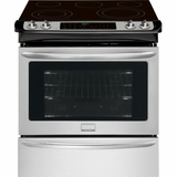"FGES3065PF Frigidaire Gallery 30"" Slide-In Electric Range - Smudge-Proof Stainless Steel"