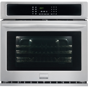 "FGEW2765PF Frigidaire 27"" Electric Single Oven with Convection & Steam Cleaning - Smudge-Proof Stainless Steel"