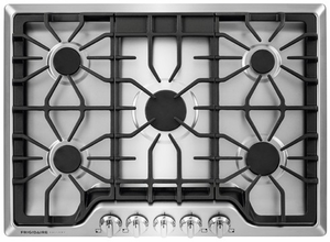 "FGGC3047QS Frigidaire 30"" Gas Cooktop with Power Burner - Stainless Steel"