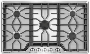 "FGGC3645QS Frigidaire Gallery 36"" Gas Cooktop with Power Burner - Stainless Steel"