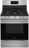 "FGGF3036TF Frigidaire 30"" Freestanding Gas Range with One-Touch Self Clean and Quick Bake Convection - Stainless Steel"