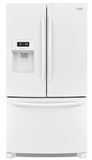 "FGHB2868TP Frigidaire 36"" Gallery Series French Door 26.8 Cu. Ft. Refrigerator with Store-More Shelves and PureSource Ultra II Water Filtration - White"