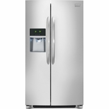 FGHC2331PF Frigidaire Gallery 23 Cu. Ft. Counter Depth Side-by-Side Refrigerator - Stainless Steel