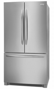 "FGHG2368TF Frigidaire 36"" Gallery Series Counter-Depth French Door Bottom Mount 21.7 Cu. Ft. Refrigerator with Crisp Seal and PureSource Ultra II Water Filtration - Smudge Proof Stainless Steel"