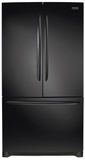"FGHN2868TE Frigidaire 36"" Gallery Series French Door Bottom Mount 27.6 Cu. Ft. Refrigerator with Crisp Seal and PureSource Ultra II Water Filtration - Black"