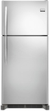 FGHT2046QF Frigidaire Gallery Custom Flex 20.4 Cu. Ft. Top Freezer Refrigerator with Spacewise Organization - Smudge Proof Stainless Steel