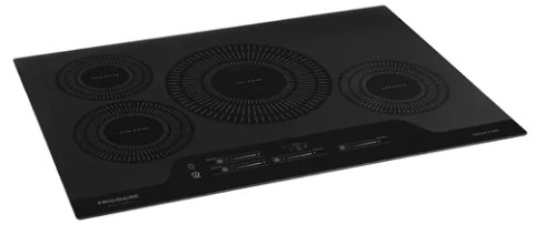 """FGIC3066TB Frigidaire 30"""" Gallery Series Built-In Induction Cooktop with Auto Sizing Pan Detection and Even Heat - Black"""