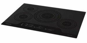 "FGIC3066TB Frigidaire 30"" Gallery Series Built-In Induction Cooktop with Auto Sizing Pan Detection and Even Heat - Black"