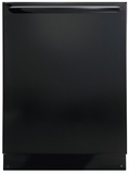 FGID2466QB Frigidaire Gallery 24'' Built-In Dishwasher with OrbitClean Technology - Black