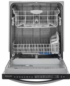 FGID2466QD Frigidaire Gallery 24'' Built-In Dishwasher with OrbitClean Technology and SaharaDry - Black Stainless Steel