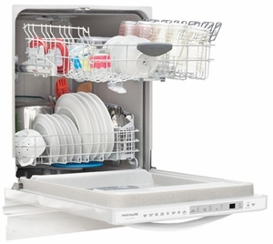FGID2466QW Frigidaire Gallery 24'' Built-In Dishwasher with OrbitClean Technology - White