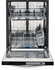 FGID2474QF Frigidaire Gallery 24'' Built-In Dishwasher - Stainless Steel