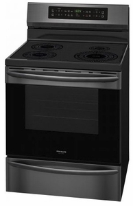 """FGIF3036TD Frigidaire Gallery 30"""" Freestanding Induction Range with Quick Clean and Temperature Precision - Smudge-Proof Black Stainless Steel"""