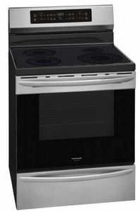 """FGIF3036TF Frigidaire Gallery 30"""" Freestanding Induction Range with Quick Clean and Temperature Precision - Smudge-Proof Stainless Steel"""