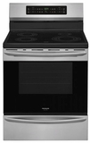 "FGIF3036TF Frigidaire 30"" Freestanding Induction Range with Quick Clean and Temperature Precision - Smudge-Proof Stainless Steel"