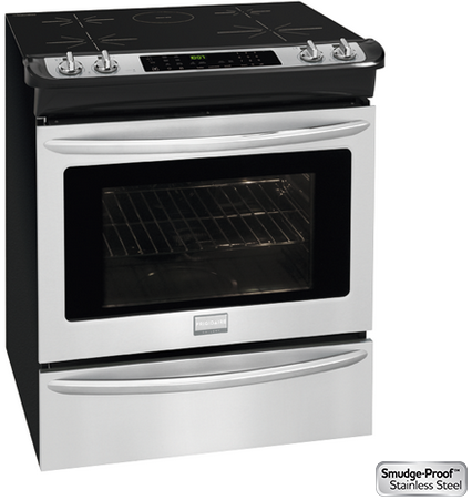 "FGIS3065PF Frigidaire 30"" Induction Electric Range with 5 Cooking Zones 4.6 cu. ft. Convection Oven - Stainless Steel"