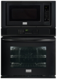 """FGMC2765PB Frigidaire 27"""" Combination Wall Oven with 3.8 cu. ft. True Convection Oven - Black"""