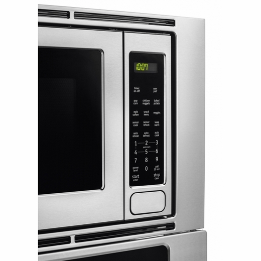 "FGMC2765PF Frigidaire Gallery 27"" Electric Wall Oven/Microwave Combination with Convection - Smudge-Proof Stainless Steel"